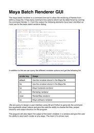 Maya Batch Renderer GUI