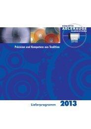 Katalog 2013 - Kornoptik Adlerauge
