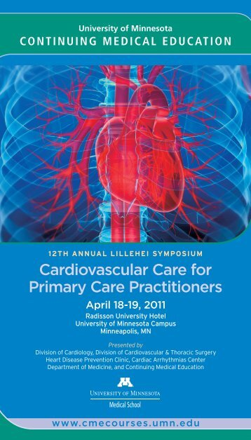Cardiovascular Care for Primary Care Practitioners - University of ...