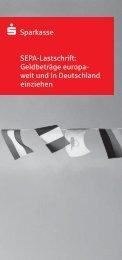 Flyer zum Firmenlastschrift-Verfahren 18,2 kb - Sparkasse ...