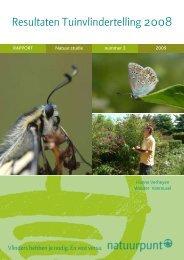 resultaten vlindertelweekend 2008 - Natuurpunt