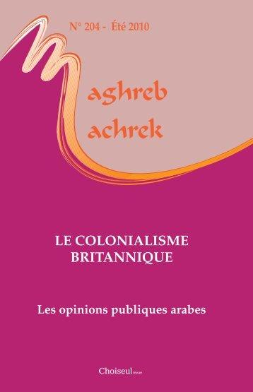 Le coLoniaLisme britannique - Fichier PDF