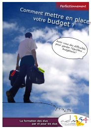 budget ? - Association des maires