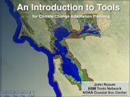 Tools for SLR Planning - PRBO Conservation Science