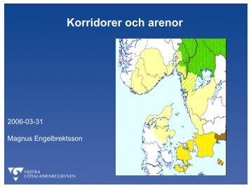 Korridorer og arenaer - Interreg Sverige Norge