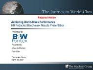 Pantex HR Benchmark Redacted Presentation - National Nuclear ...