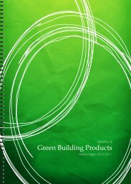 Directory of Green Building Products 2010-2011