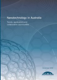 Nanotechnology in Australia - Australian Academy of Science
