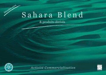 Sahara Blend & produits dérivés - Ministère de l'énergie et des mines