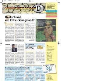 Entwicklungsland D 2002 - ELAN
