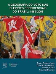 a geografia do voto nas eleições presidenciais do brasil