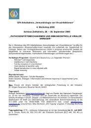 4. Workshop 2005 Schloss Zeilitzheim, 28. – 30. September ... - GfV
