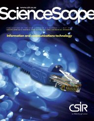 Cover, Introduction and Contents - CSIR