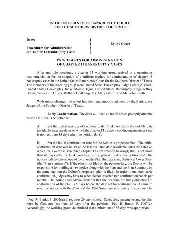 Mandatory Chapter 13 Form Plan (Cincinnati) - Southern District of ...