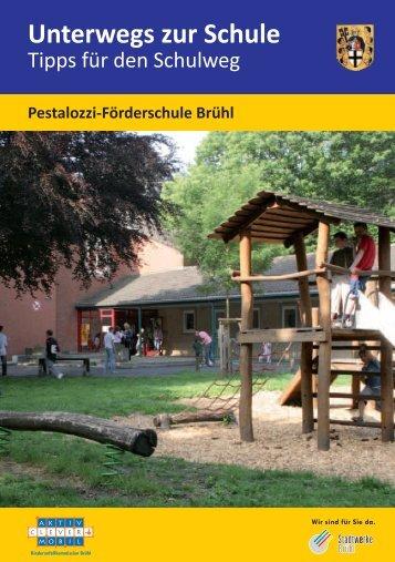 Tipps rund um den Schulweg für die Pestalozzischule - Stadt Brühl