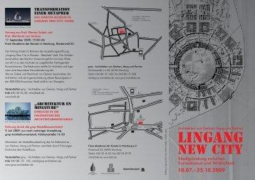 lINGANG - Von Gerkan, Marg und Partner