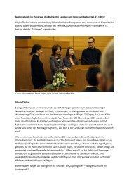 Gedenkstunde im Plenarsaal des Stuttgarter Landtags am ...