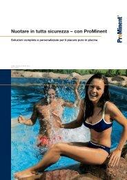 Brochure - Piscine - ProMinent Italiana S.r.l.