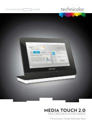 Media touch 2.0 - Marcom Telecoms Home page