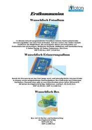Erstkommunion - Buch und Presse ifoton
