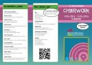 2. Fachtagung Cyberwork - Vaja