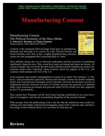 Manufacturing Consent - The Brain from Top to Bottom