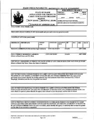 Weapons Permit Application - City of Waterville