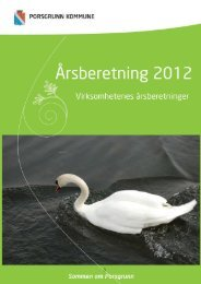 Årsberetning 2012 - Virksomhetene.pdf - Porsgrunn Kommune