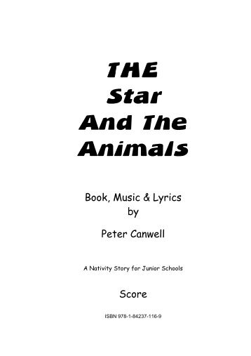 The Star And The Animals - Sample Score.pdf - Musicline
