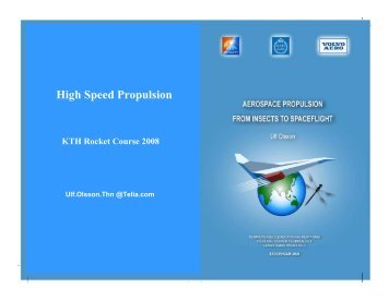 High Speed Propulsion - KTH