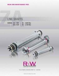 LINE SHAFTS - Jens S. Transmissioner A/S