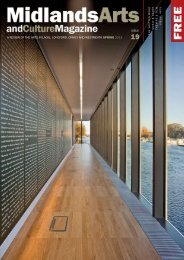 Midland Arts and Culture Magazine | SPRING 2013