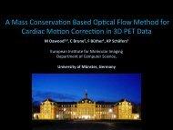 A mass conservation based optical flow method ... - Christoph Brune