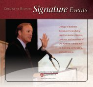 Signature Events - College of Business