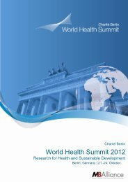 World Health Summit 2012