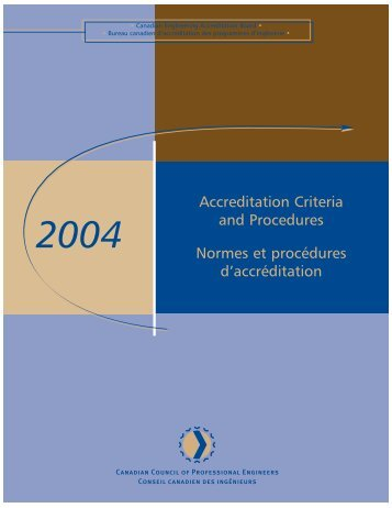 2004 - Washington Accord