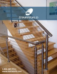Download our complete catalog (PDF) - StairWorld Inc.