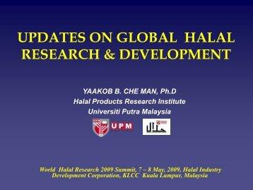 UPM GEARED UP TOWARDS SERVICING A ... - World Halal Week