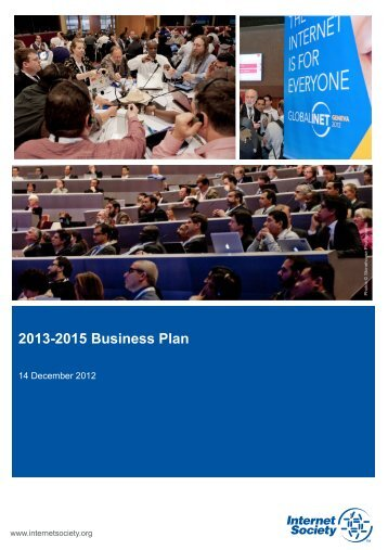 2013-2015 Business Plan - Internet Society