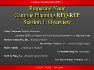 Facilities Master Plan - Society for College and University Planning