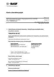 Karta charakterystyki - BASF Pest Control Solutions Polska - BASF ...
