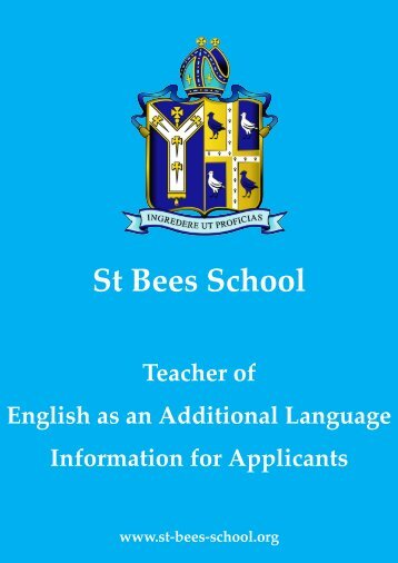 Informaton for Applicants_EAL - St Bees School