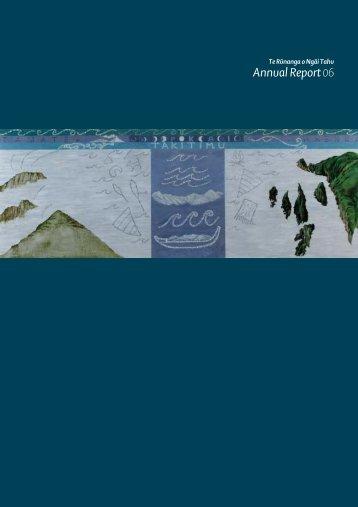 Annual Report 06 - Ngai Tahu