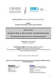 Brochure Master 2012-2013 - Université Paris Diderot-Paris 7