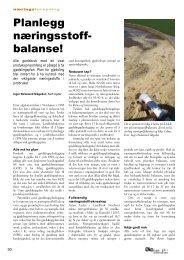 Les artikkelen her - Norsk Landbruksrådgiving Agder