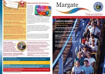 Margate Newsletter Winter Issue 2009 - Thanet District Council