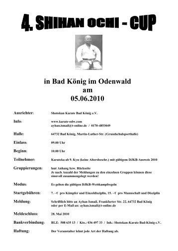 in Bad König im Odenwald am 05.06.2010