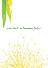 Australia Africa Democracy Project - Ethnic Communities Council of ...