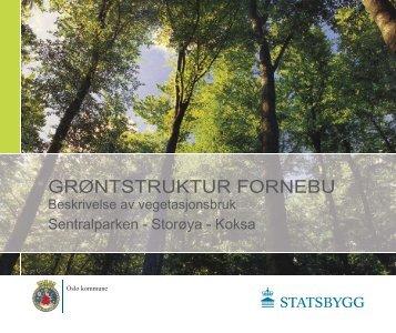 GRØNTSTRUKTUR FORNEBU - Statsbygg