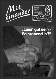 Pfarrbrief Schwertberg Nr. 124 4 / 2003 - Pfarre Schwertberg ...